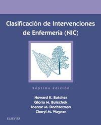 (7 ED) CLASIFICACION DE INTERVENCIONES DE ENFERMERIA (NIC)