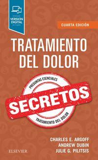 (4 ED) TRATAMIENTO DEL DOLOR - SECRETOS