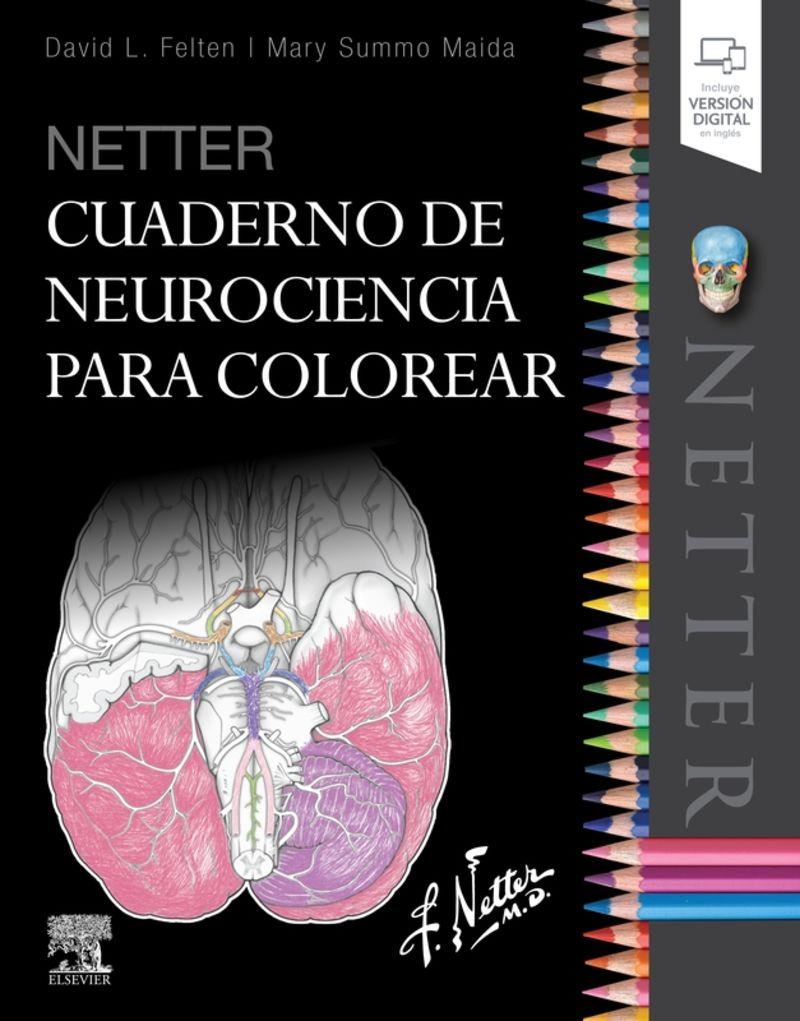 NETTER - CUADERNO DE NEUROCIENCIA PARA COLOREAR