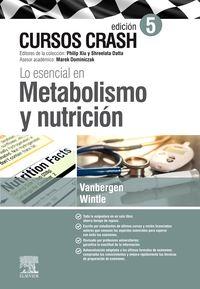 (5 ED) LO ESENCIAL EN METABOLISMO Y NUTRICION - CURSO CRASH