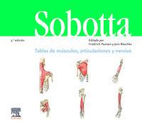 (3 ED) SOBOTTA - CUADERNOS DE TABLAS - MUSCULOS, ARTICULACIONES Y NERVIOS