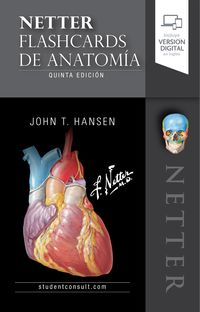 (5 ED) NETTER. FLASHCARDS DE ANATOMIA