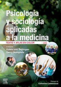 (4 ED) PSICOLOGIA Y SOCIOLOGIA APLICADAS A LA MEDICINA