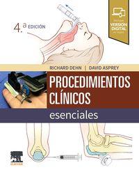 (4 ED) PROCEDIMIENTOS CLINICOS ESENCIALES