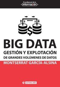 BIG DATA - GESTION Y EXPLOTACION DE GRANDES VOLUMENES DE DATOS