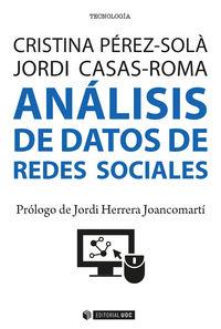 ANALISIS DE DATOS DE REDES SOCIALES