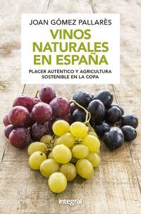 vinos naturales en españa (n. edicion) - Joan Gomez Pallares