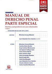 Manual De Derecho Penal - Parte Especial Tomo 1 - Juan S. Vera Sanchez (coord. )