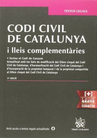 (9ª Ed. )  Codi Civil De Catalunya I Lleis Complementaries - Judith Sole Resina