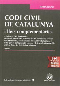 (9 ED) CODI CIVIL DE CATALUNYA I LLEIS COMPLEMENTARIES