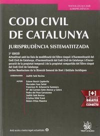 (2 ED) CODI CIVIL DE CATALUNYA - JURISPRUDENCIA SISTEMATIZADA