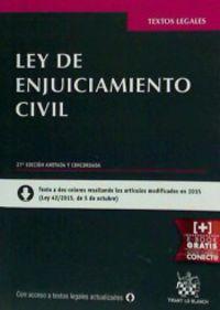 (27ª Ed. )  Ley De Enjuiciamiento Civil - Juan  Montero Aroca  /  Maria Pia  Calderon Cuadrado