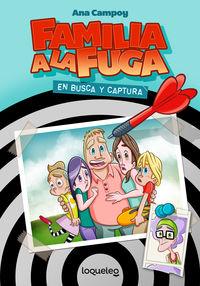 (ESTUCHE) FAMILIA A LA FUGA 1 - EN BUSCA Y CAPTURA