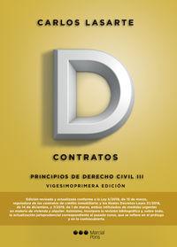 PRINCIPIOS DE DERECHO CIVIL III - CONTRATOS 2019