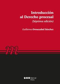 INTRODUCCION AL DERECHO PROCESAL 2019