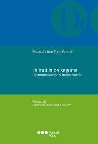 MUTUA DE SEGUROS - DESMUTUALIZACION Y MUTUALIZACION