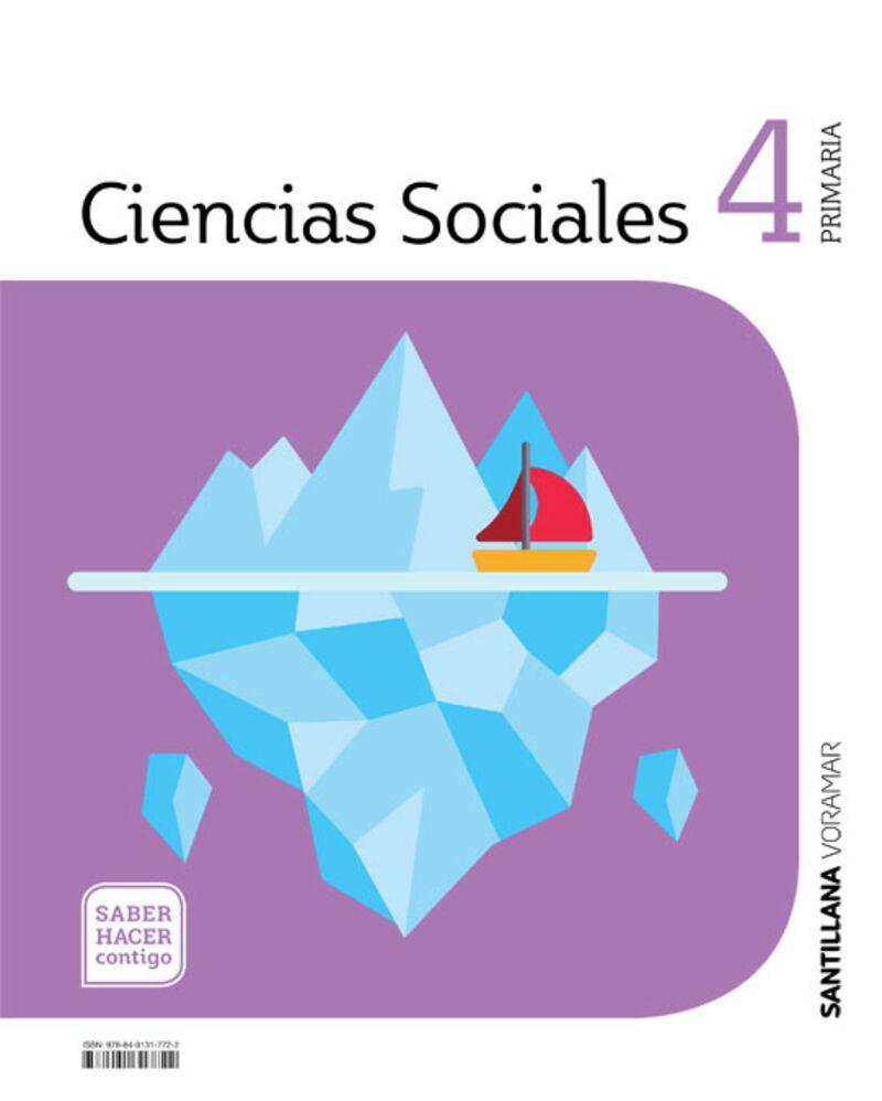 EP 4 - SOCIALES (CASTELLANO) (C. VAL) - SABER HACER CONTIGO