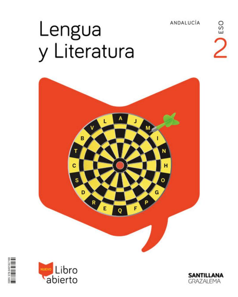 ESO 2 - LENGUA Y LITERATURA (AND) - LIBRO ABIERTO - SABER HACER CONTIGO