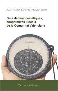 GUIA DE FINANCES ETIQUES, COOPERATIVES I LOCALS DE LA COMUNITAT VALENCIANA