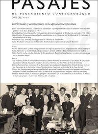 INTELECTUALES Y COMPROMISOS EN LA EPOCA CONTEMPORANEA - PASAJES, 58