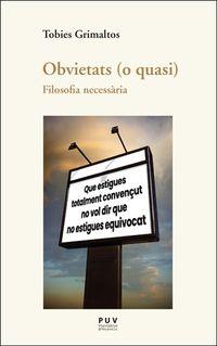 OBVIETATS (O QUASI) - FILOSOFIA NECESSARIA