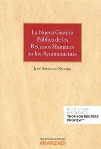 Nueva Gestion Publica De Los Recursos Humanos En Los Ayuntamientos, La (duo) - Jose Serrano Segura