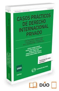 CASOS PRACTICOS DE DERECHO INTERNACIONAL PRIVADO (DUO)