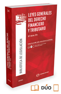 (38 Ed) Leyes Generales Del Derecho Financiero Y Tributario (duo) - Aa. Vv.