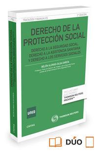 (3 ed) derecho de la proteccion social (duo) - Belen Alonso Garcia