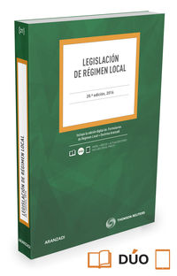 (1 Ed)  Legislacion De Regimen Local (duo)  (20 Ed Civitas) - Aa. Vv.