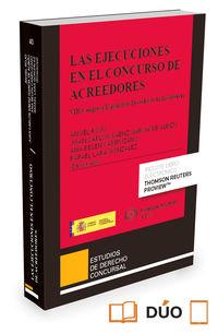 Ejecuciones En El Concurso De Acreedores, Las (duo) - Rafael Lara Gonzalez / Ana Belen Campuzano Laguillo / [ET AL. ]