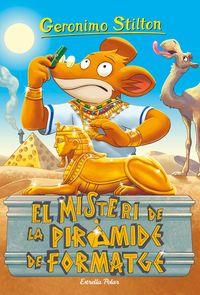 El misteri de la piramide de formatge - Geronimo Stilton