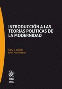 INTRODUCCION A LAS TEORIAS POLITICAS DE LA MODERNIDAD