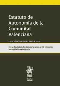 (2 ED) ESTATUTO DE AUTONOMIA DE LA COMUNITAT VALENCIANA