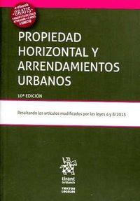 (10 Ed) Propiedad Horizontal Y Arrendamientos Urbanos - Mario Clemente Meoro / Jesus Estruch Estruch / Adela Serra Rodriguez