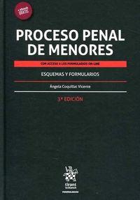 (3 ED) PROCESO PENAL DE MENORES