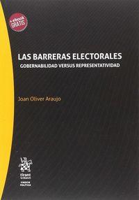 BARRERAS ELECTORALES, LAS