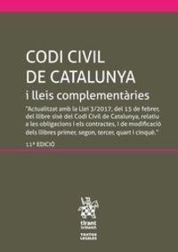 (11 ED) CODI CIVIL DE CATALUNYA I LLEIS COMPLEMENTARIES (INCLOU EL CODI DE CONSUM)
