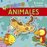 ANIMALES - PEQUEÑOS PUZLES