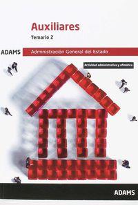 TEMARIO 2 - AUXILIARES DE LA ADMINISTRACION DEL ESTADO
