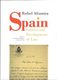 SPAIN - SOURCES AND DEVELOPMENT OF LAW