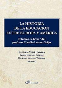 HISTORIA DE LA EDUCACION ENTRE EUROPA Y AMERICA