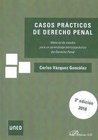 (3 ED) CASOS PRACTICOS DE DERECHO PENAL