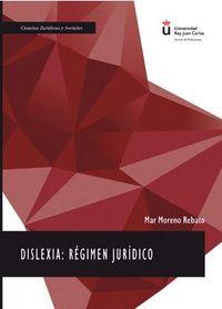 Dislexia - Regimen Juridico - Mar Moreno