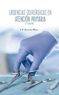 (3 Ed) Urgencias Quirurgicas En Atencion Primaria - Francisco Javier Perez Lara