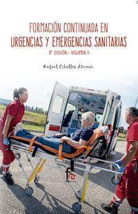 (8 ED) FORMACION CONTINUA EN URGENCIAS Y EMERGENCIAS SANITARIAS II