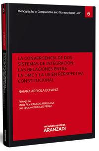 CONVERGENCIA DE DOS SISTEMAS DE INTEGRACION, LA - LAS RELACIONES ENTRE LA OMC Y LA UE EN PERSPECTIVA CONSTITUCIONAL