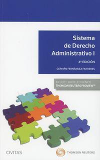 (4 ED) SISTEMA DE DERECHO ADMINISTRATIVO I (DUO)