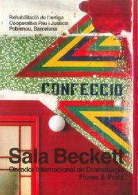 SALA BECKETT - OBRADOR INTERNACIONAL DE DRAMATURGIA