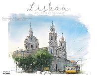 Lisboa - Acuarelas De Viaje - Pablo Ruben Lopez Sanz